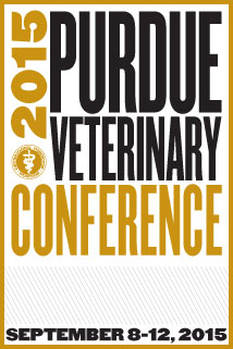 2015 Purdue Veterinary Conference - September 8-12, 2015